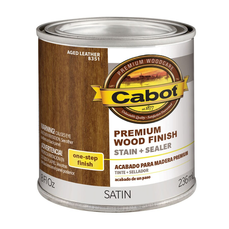 Cabot 8-fl oz Aged Leather Oil-Modified Interior Stain