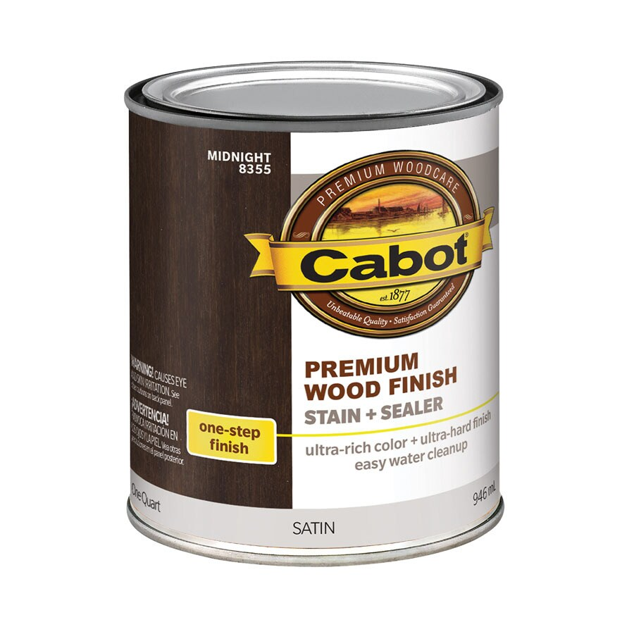 Cabot Midnight Oil-Modified 32-fl oz Interior Stain