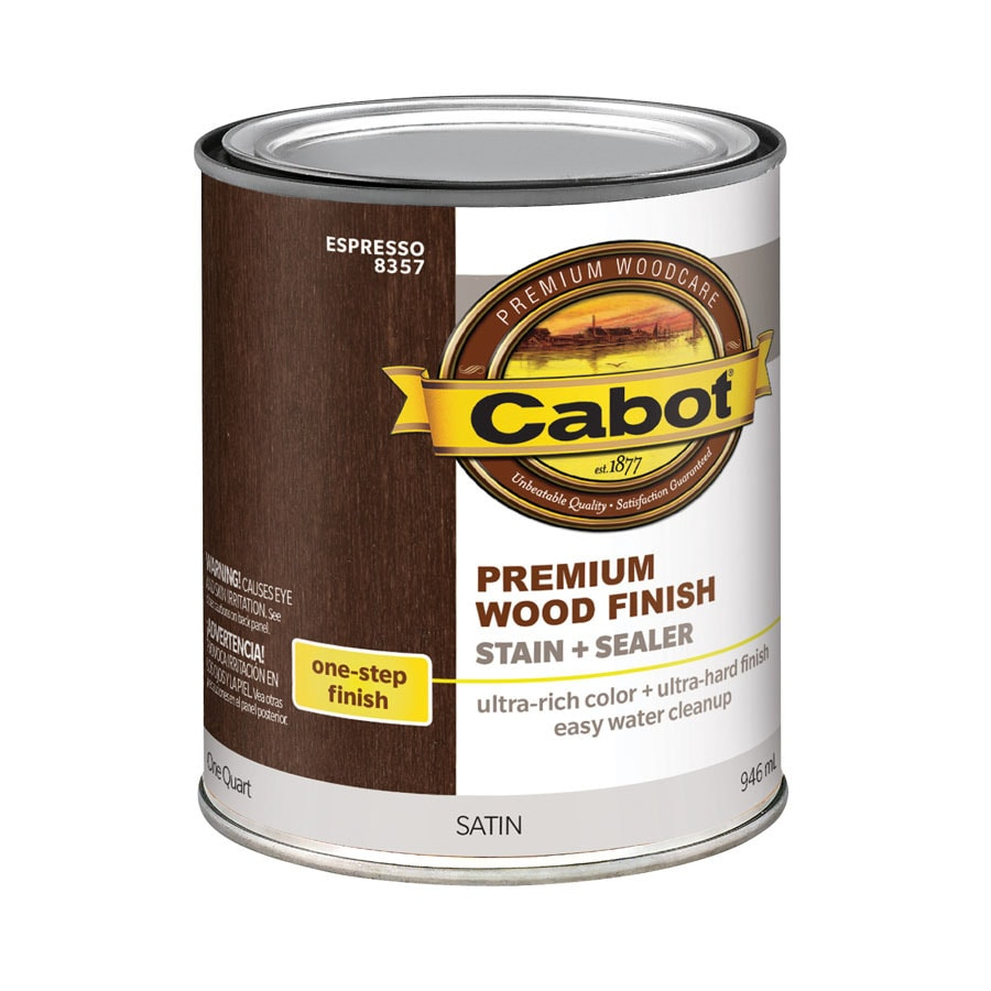 Cabot 32-fl oz Espresso Oil-Modified Interior Stain