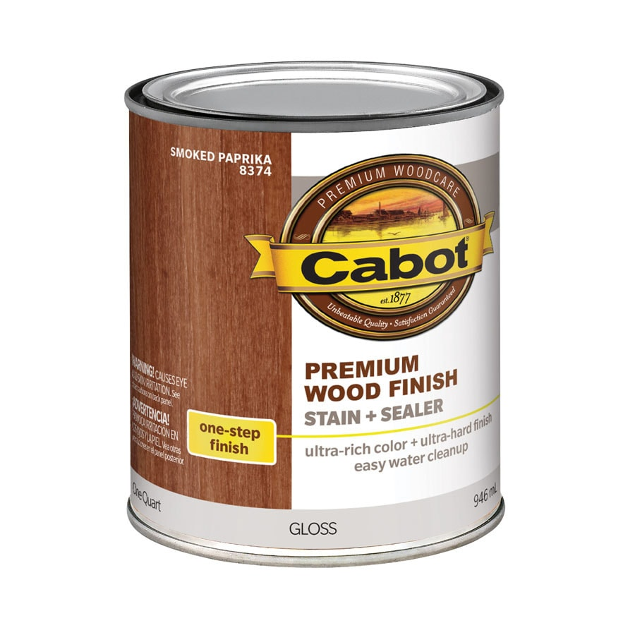 Cabot 32-fl oz Smoked Paprika Oil-Modified Interior Stain