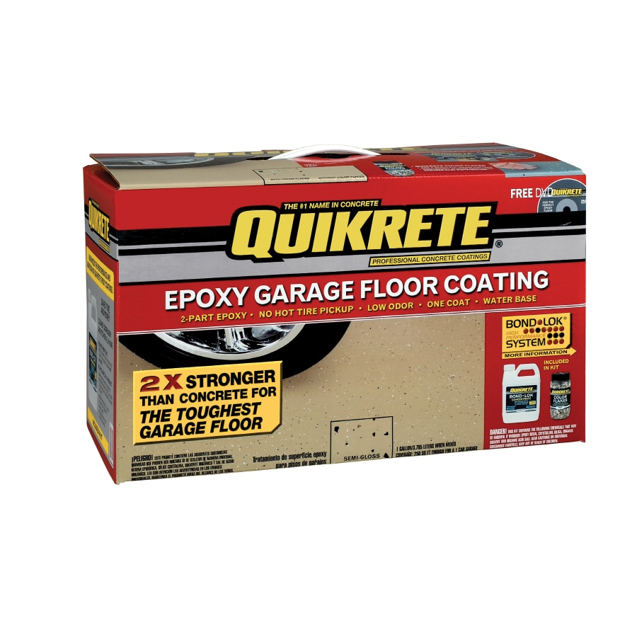 QUIKRETE Gallon Interior Porch and Floor Tan Paint