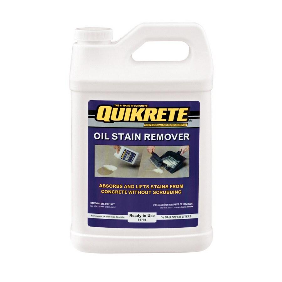 QUIKRETE 0.5-Gallon Oil & Stain Remover
