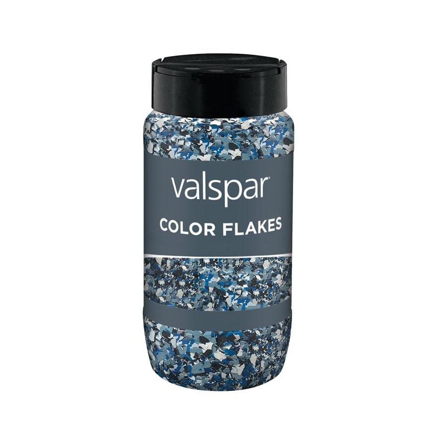 Valspar Blue Paint Color Flakes (Actual Net Contents: 10-fl oz)