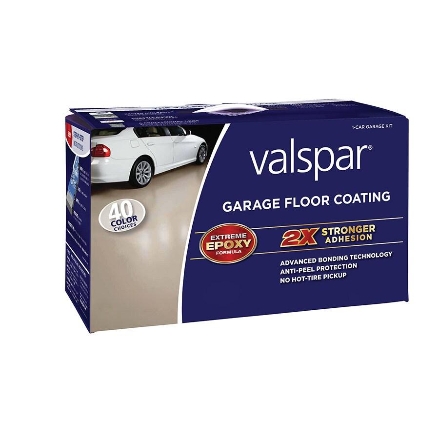Valspar 2-Part Tint Base Semi-Gloss Garage Floor Epoxy Kit (Actual Net Contents: 112-fl oz)