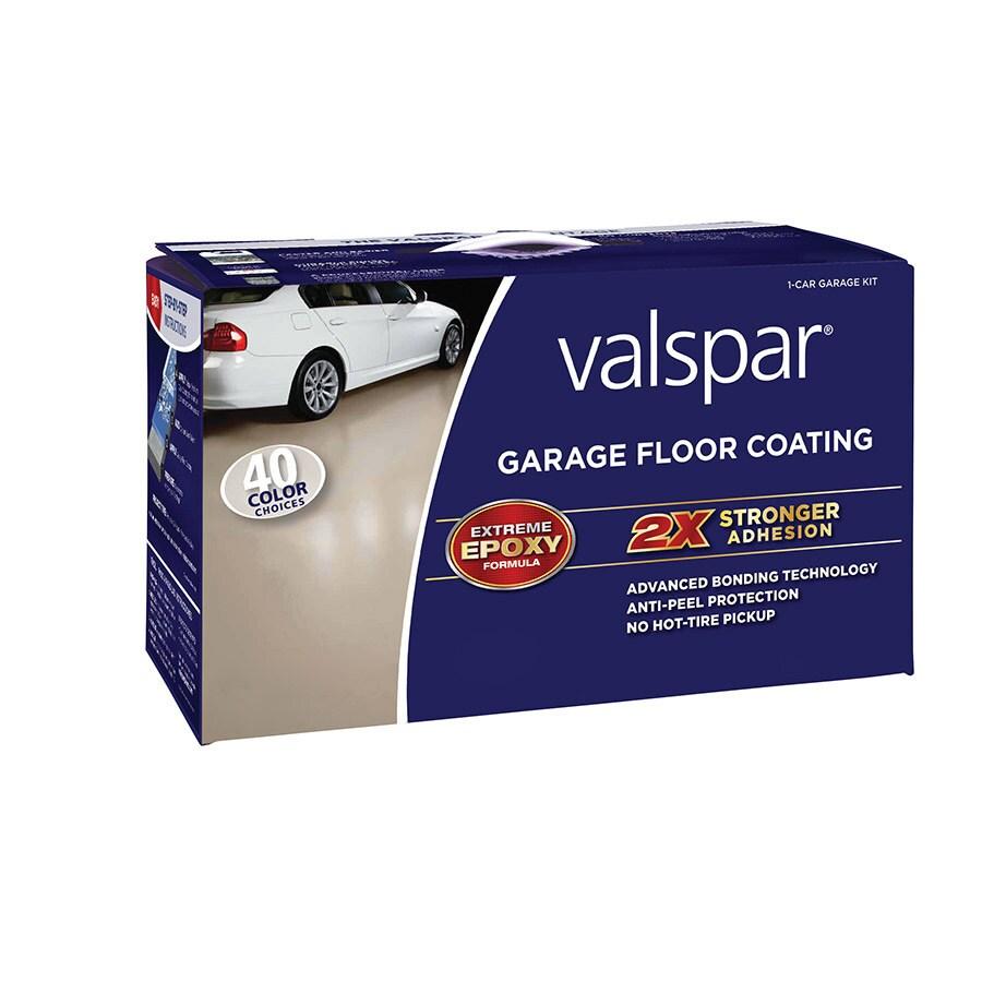 Valspar 2-Part Tintable Base Semi-Gloss Garage Floor Epoxy Kit (Actual Net Contents: 112-fl oz)