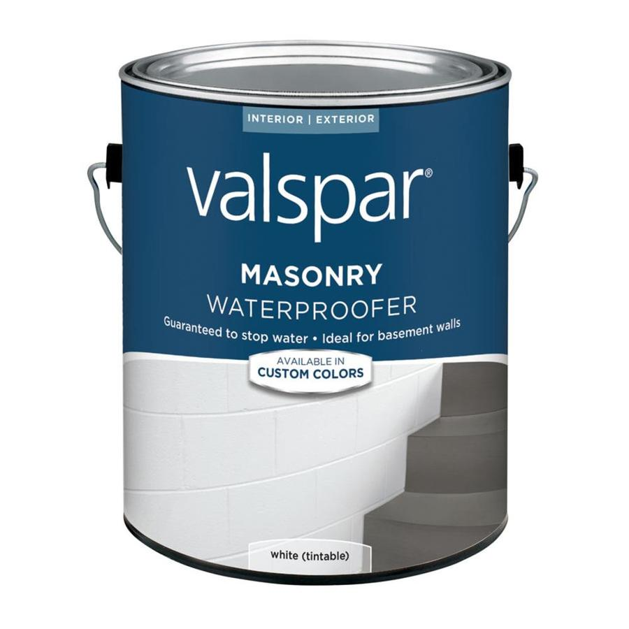 Shop Valspar Masonry Waterproofer White Flat Latex