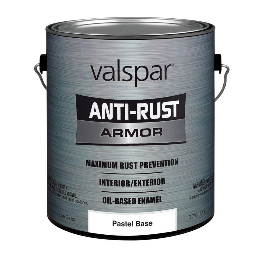 Valspar Anti-Rust Armor Gloss Enamel Interior/Exterior Paint (Actual Net Contents: 126-fl oz)