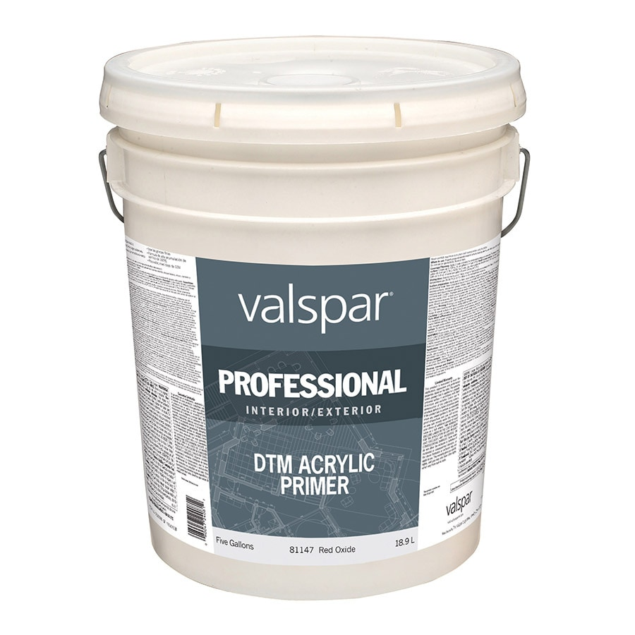 Shop Valspar Red Flat Latex Interior Exterior Paint Actual Net Contents 640 Fl Oz At