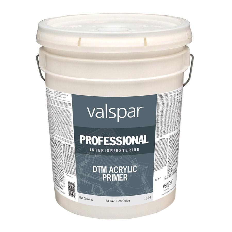 Shop Valspar Red Flat Latex Interior Exterior Paint Actual Net Contents 640 Fl Oz At