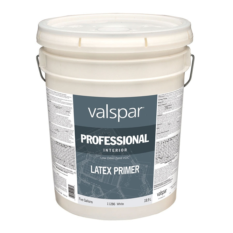 Valspar N/A White Flat Latex Interior Paint (Actual Net Contents: 640-fl oz)
