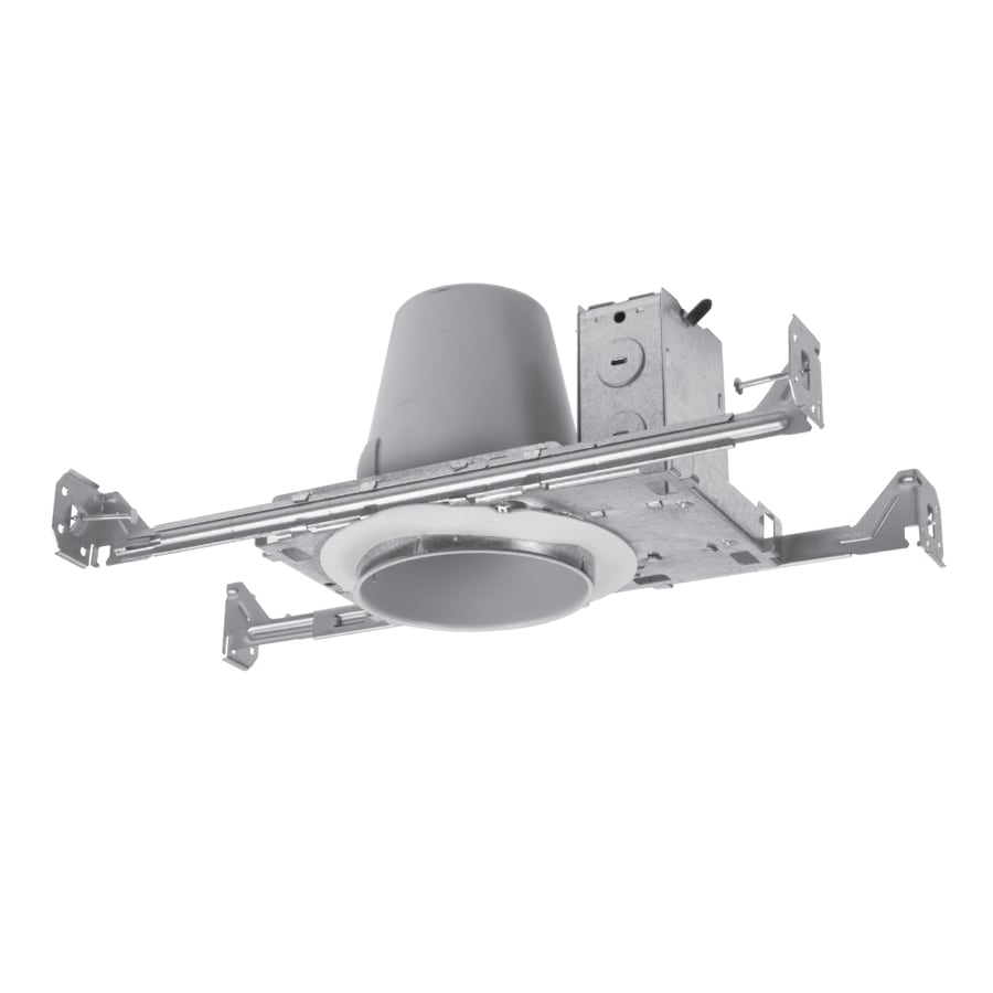 Halo New Construction Shallow Recessed Light Housing (Common: 4-in; Actual: 4.375-in)