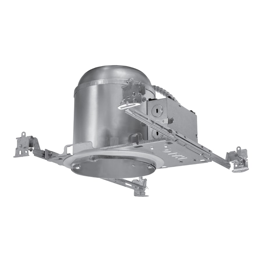 Halo New Construction Airtight IC Recessed Light Housing (Common: 6-in; Actual: 6.5-in)