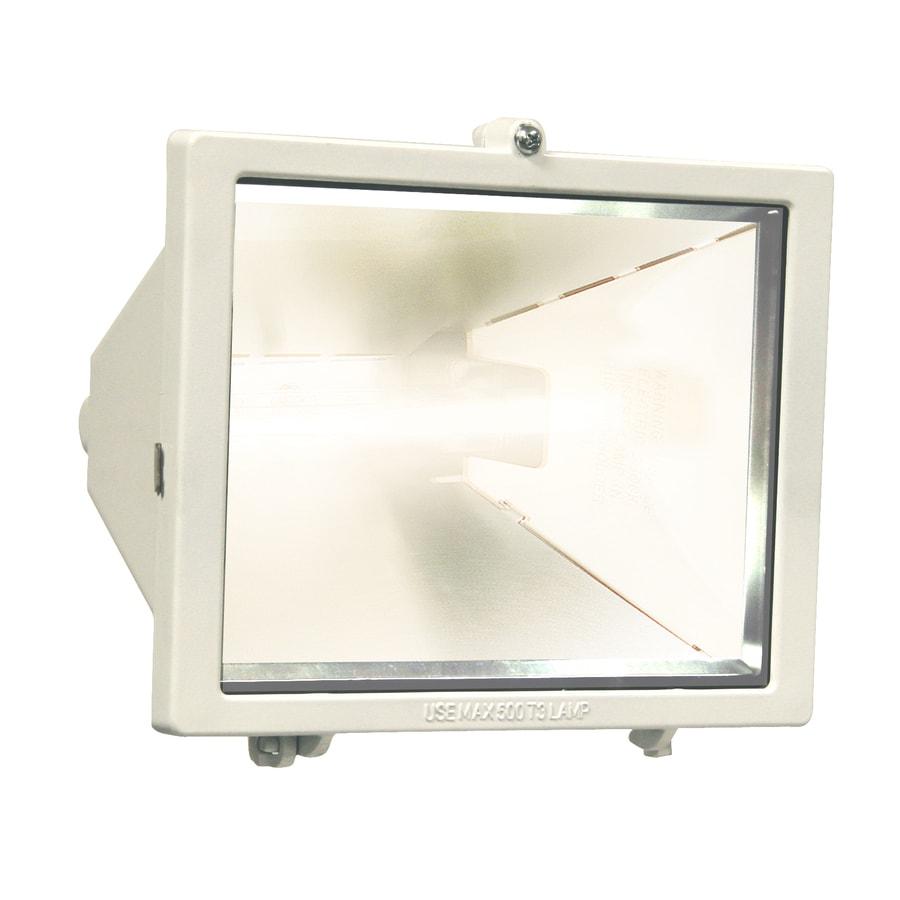 Utilitech 9-in 1-Head Halogen White Switch-Controlled Flood Light