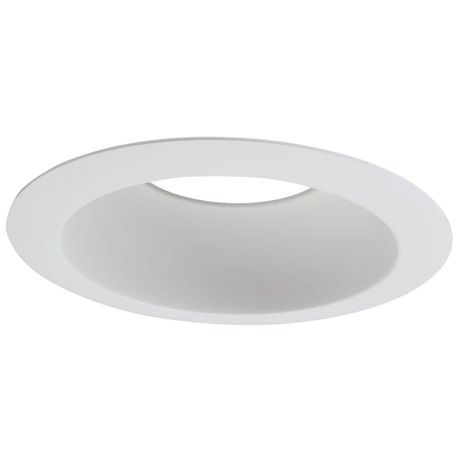 Halo Commercial Led Downlight Kit Component White Reflector Recessed Light Trim (Fits Housing Diameter: 6-in)