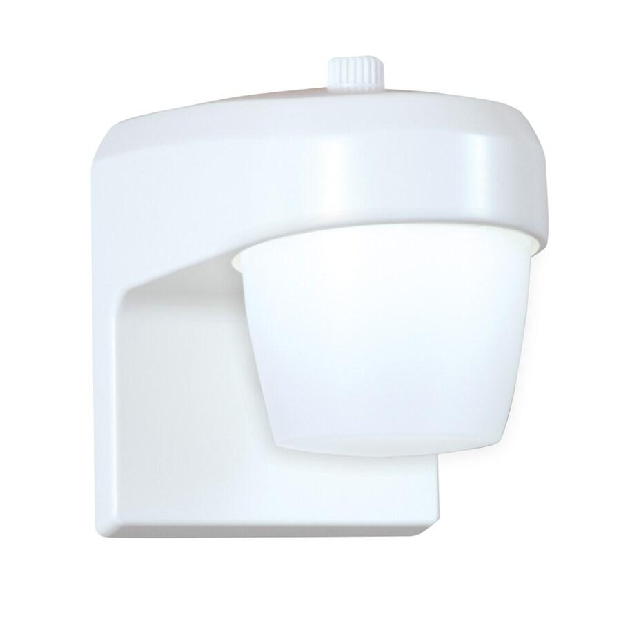 All-Pro 11-Watt White LED Dusk-to-Dawn Flood Light
