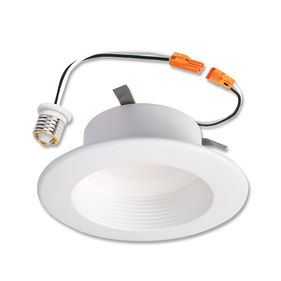 Halo 60-Watt Equivalent White LED Recessed Retrofit Downlight (Fits Housing Diameter: 4-in)
