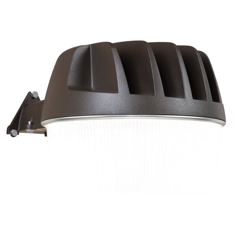 wall light 33 watt bronze led dusk to dawn flood light at. Black Bedroom Furniture Sets. Home Design Ideas