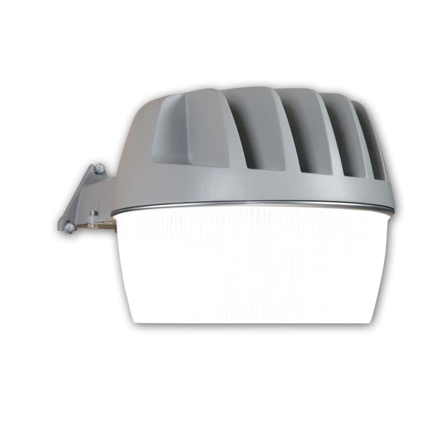 All-Pro Area and Wall Light 33-Watt Gray LED Dusk-to-Dawn Flood Light
