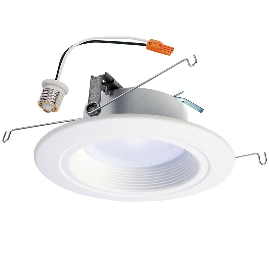 Halo 65-Watt Equivalent White LED Recessed Retrofit Downlight (Fits Housing Diameter: 5-in or 6-in)