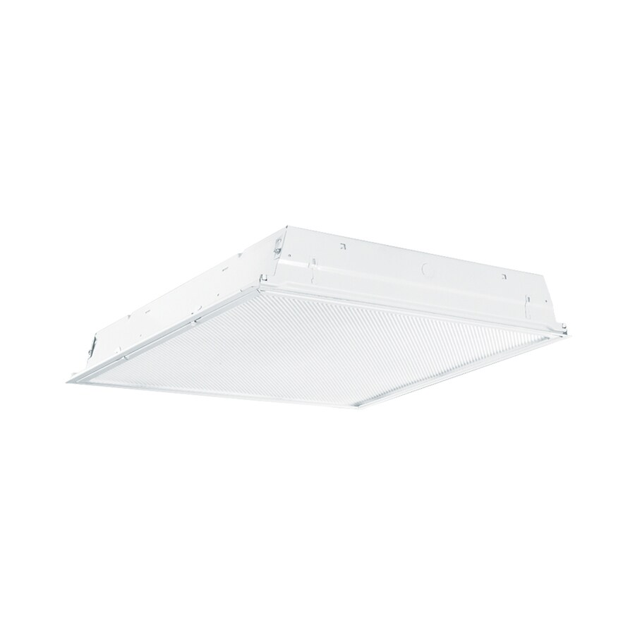 Metalux GR LED Series Troffer Shop Light (Common: 2-ft; Actual: 23.75-in x 23.75-in)