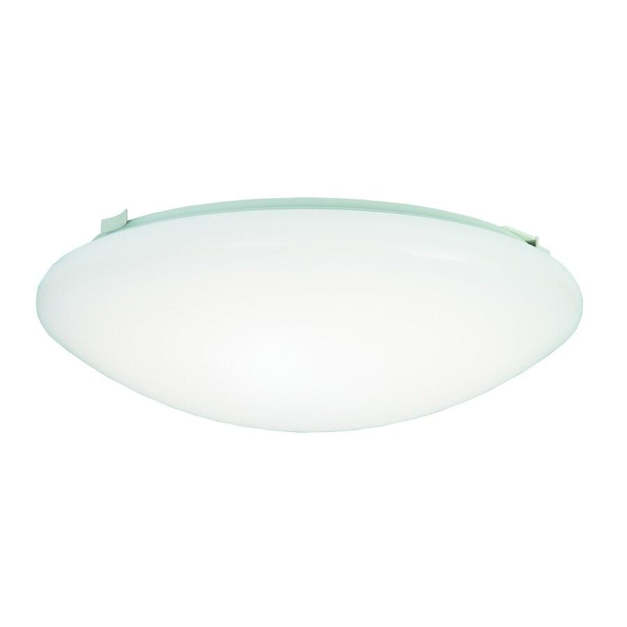 Metalux FMLED 12-in W White LED Ceiling Flush Mount Light