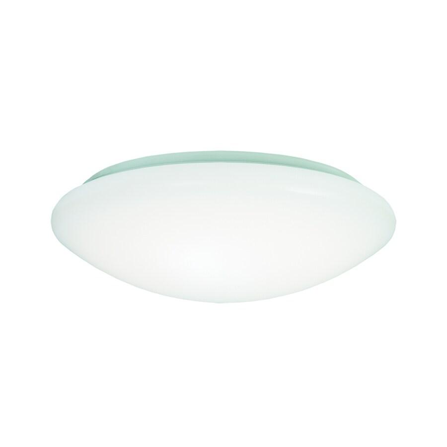 Led Ceiling Lights Lowes : Metalux fmled in w white led ceiling flush mount