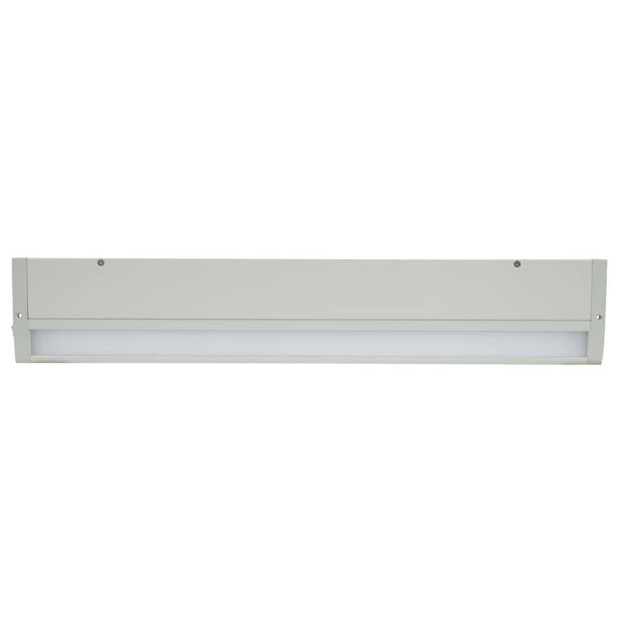 Shop Shelf Tool Lighting Kit Led Bar Fixture Cool White: Shop Halo HU10 23.98-in Hardwired/Plug-in Under Cabinet