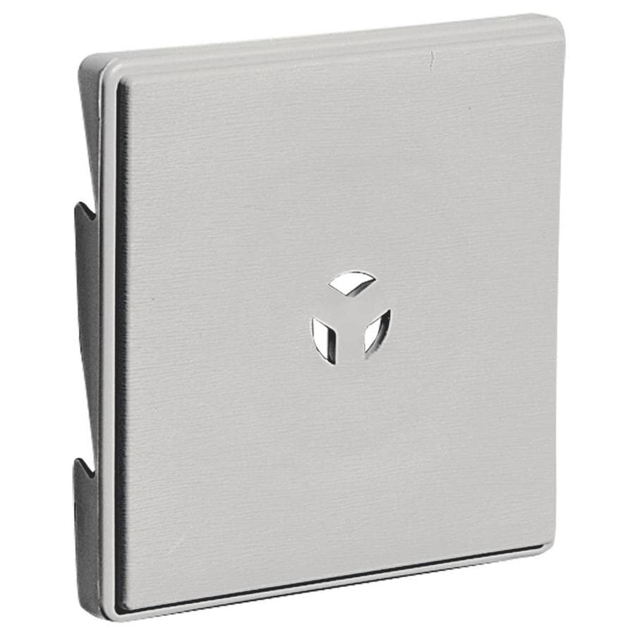 Builders Edge 6.625-in x 6.625-in Paintable Vinyl Universal Mounting Block