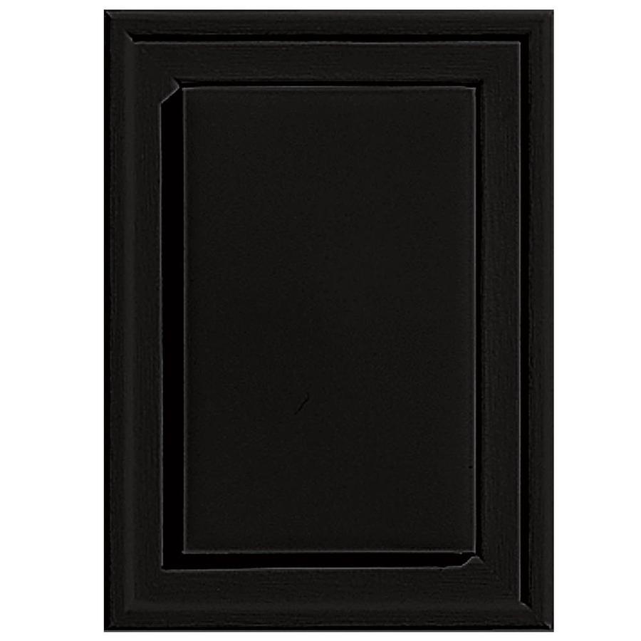 Builders Edge 4.5-in x 6.25-in Black Vinyl Universal Mounting Block