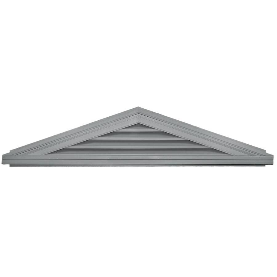 Builders Edge 7-in x 8-in Paintable Triangle Vinyl Gable Vent