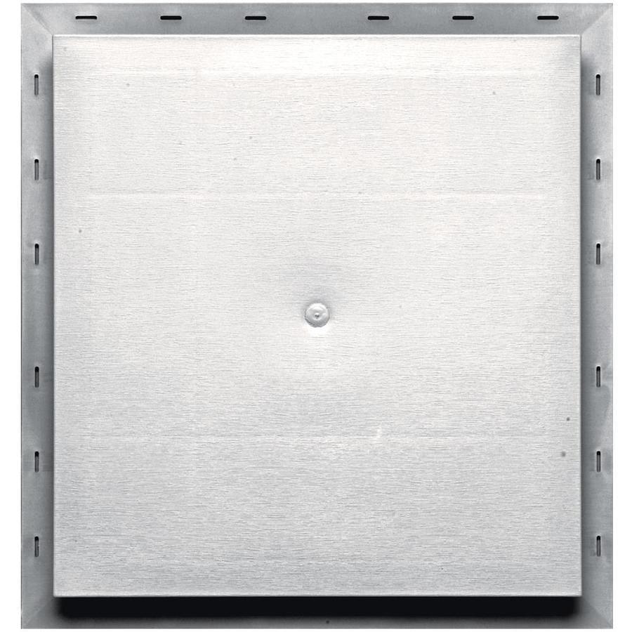 Builders Edge 15.5-in x 16.5-in Bright White Vinyl Universal Mounting Block