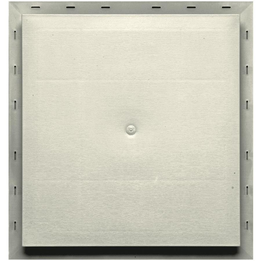 Builders Edge 15.5-in x 16.5-in Linen Vinyl Universal Mounting Block