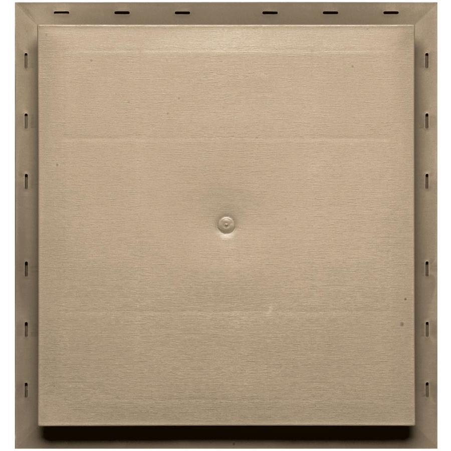 Builders Edge 15.5-in x 16.5-in Tan Vinyl Universal Mounting Block