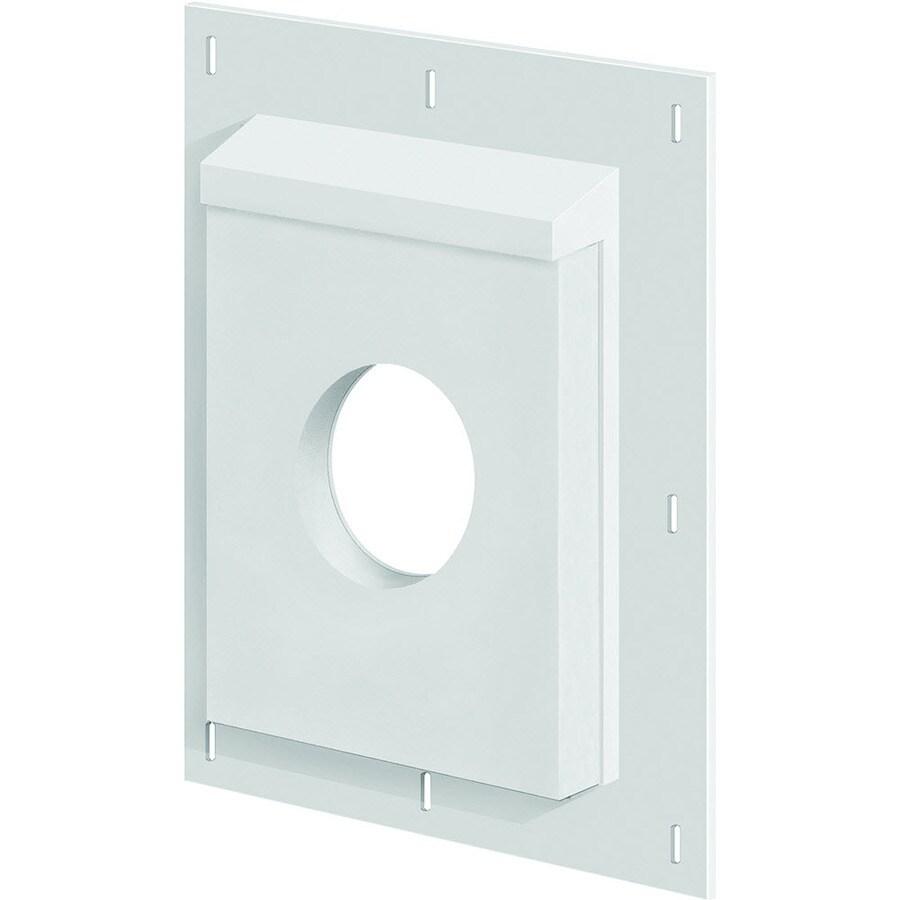 SturdiMount 11.6-in x 14.25-in Trim White Fiber Cement Universal Mounting Block
