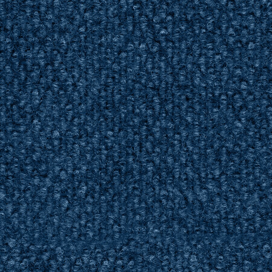 Select Elements 16-Pack 18-in x 18-in Blue Indoor/Outdoor Needlebond Peel-and-Stick Carpet Tile