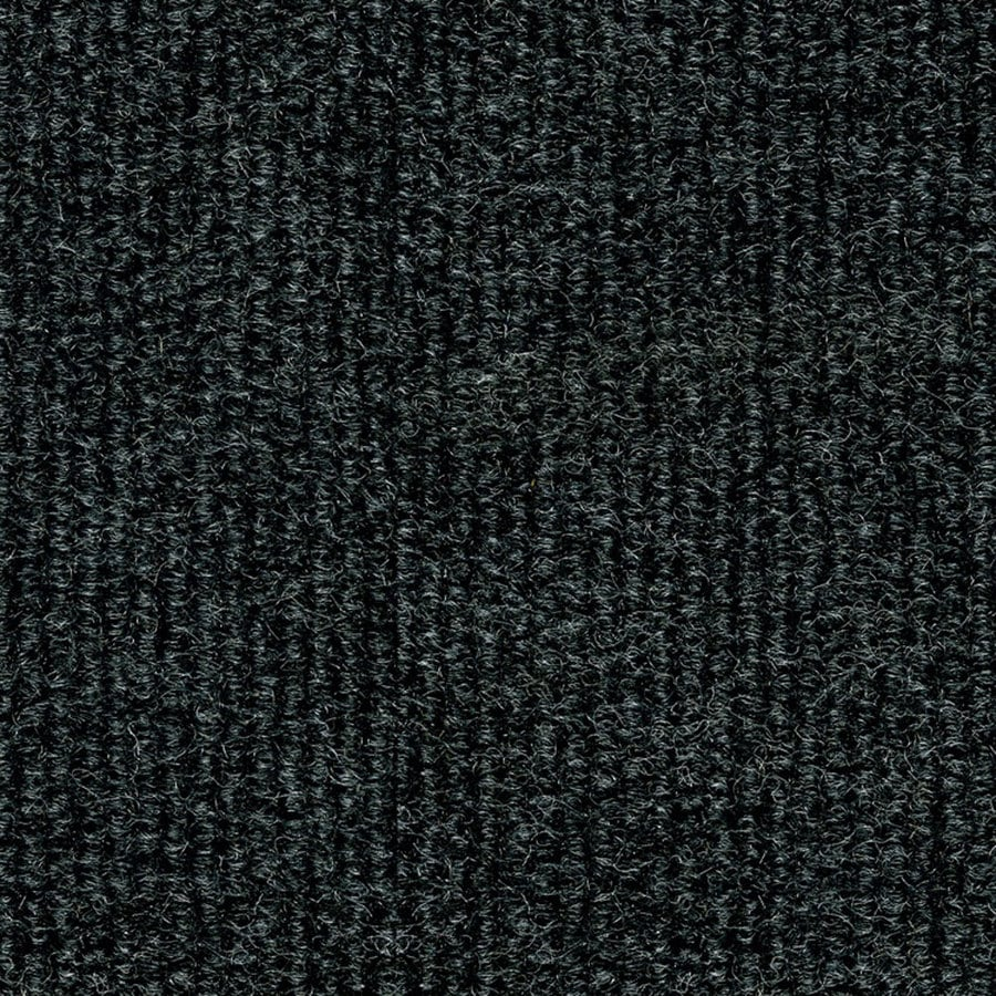 16-Pack 18-in x 18-in Restoration Black Indoor/Outdoor Needlebond Peel-and-Stick Carpet Tile