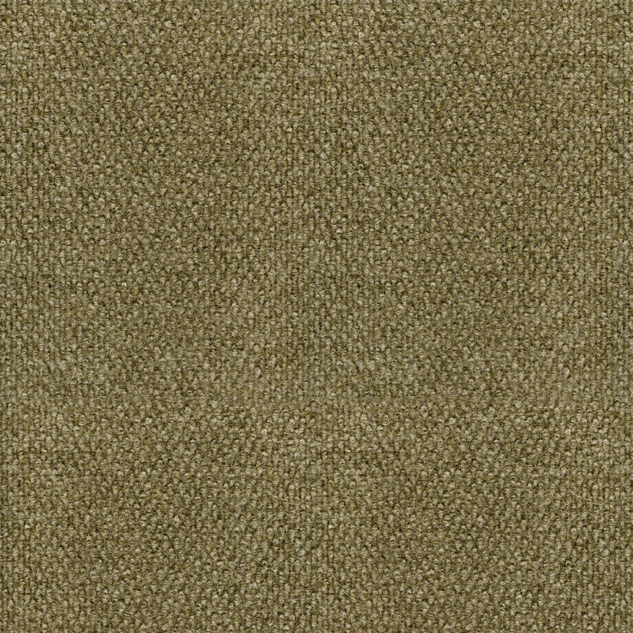 16-Pack 18-in x 18-in Pebble- Tweed Bark/Cream Indoor/Outdoor Peel-and-Stick Carpet Tile