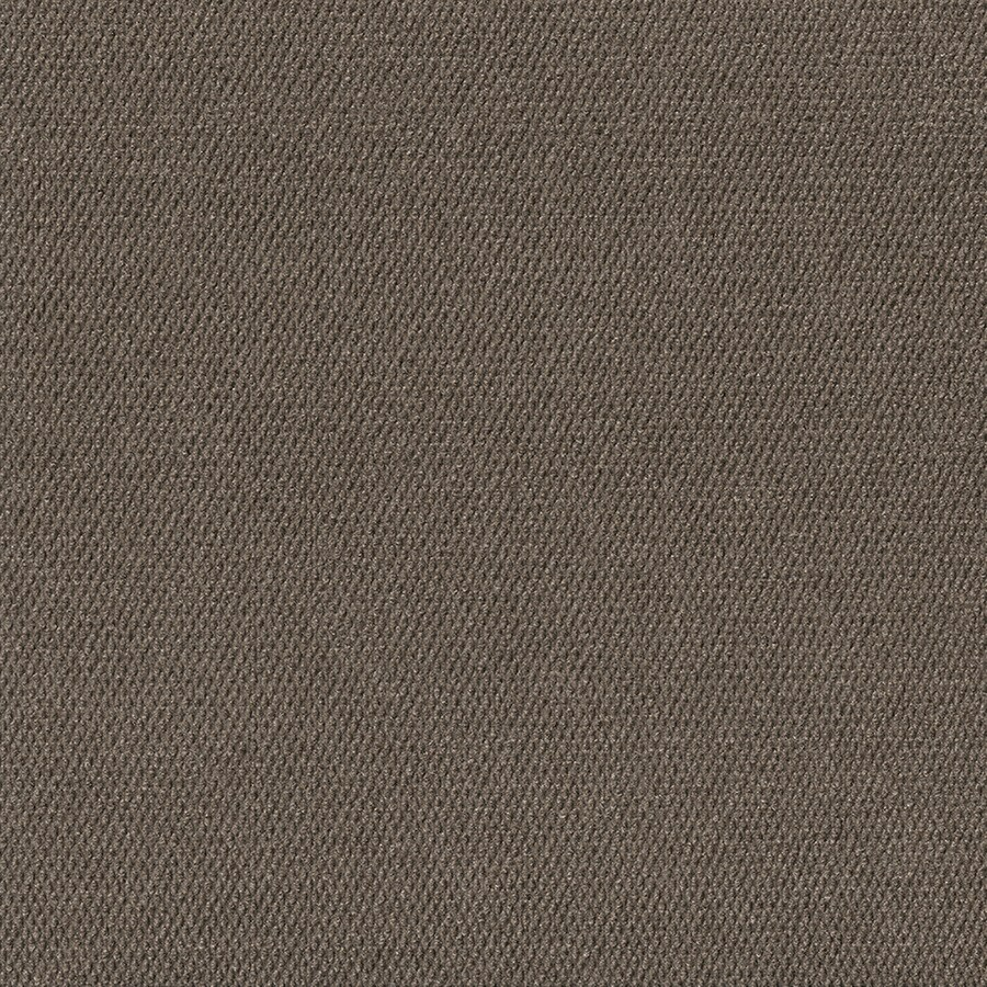 Pebble Path 15-Pack 24-in x 24-in Espresso Indoor/Outdoor Needlebond Peel-and-Stick Carpet Tile