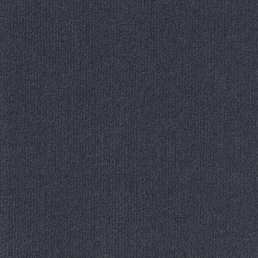 Contour Rib 15-Pack 24-in x 24-in Ocean Blue Indoor/Outdoor Needlebond Peel-and-Stick Carpet Tile