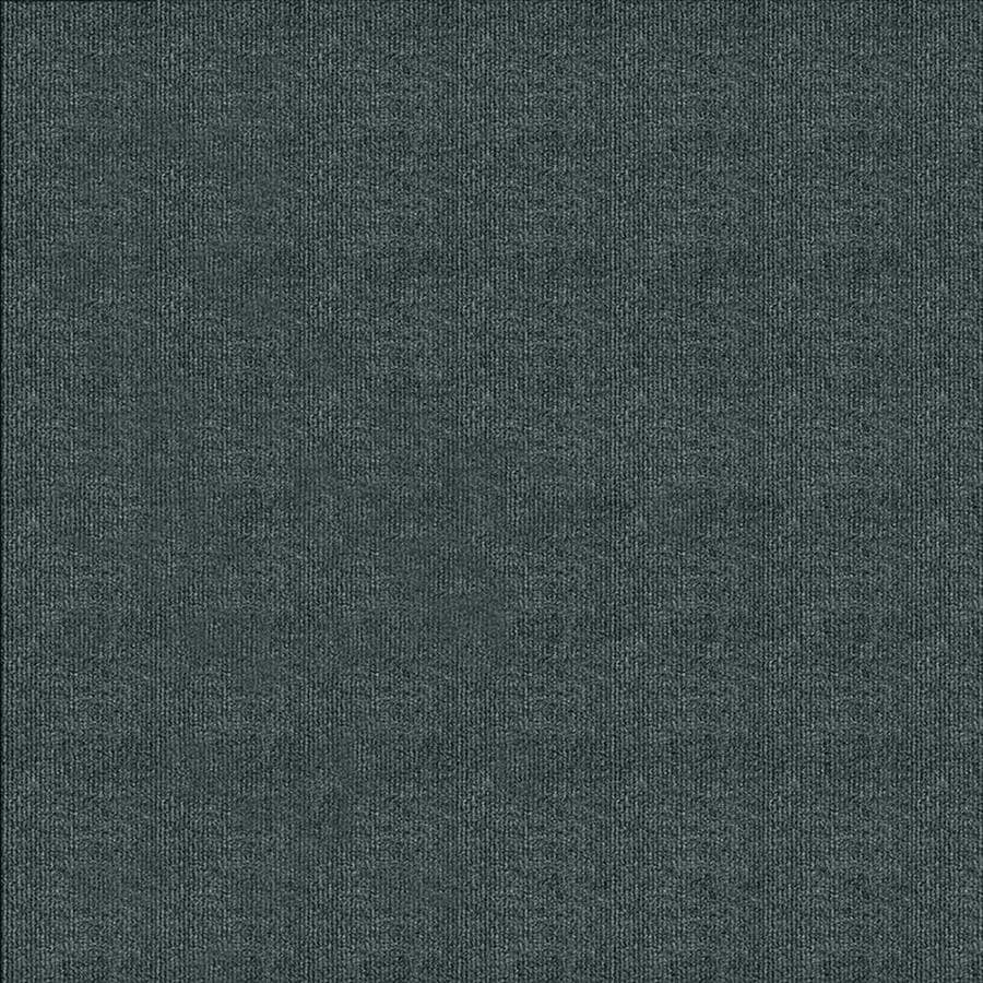 Contour Rib 15-Pack 24-in x 24-in Smoke Indoor/Outdoor Needlebond Peel-and-Stick Carpet Tile