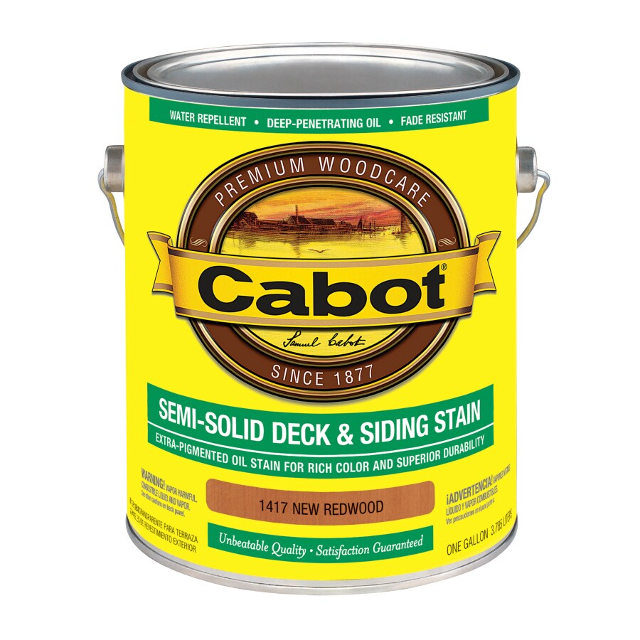 Cabot Semi-Transparent Exterior Stain (Actual Net Contents: 128-fl oz)