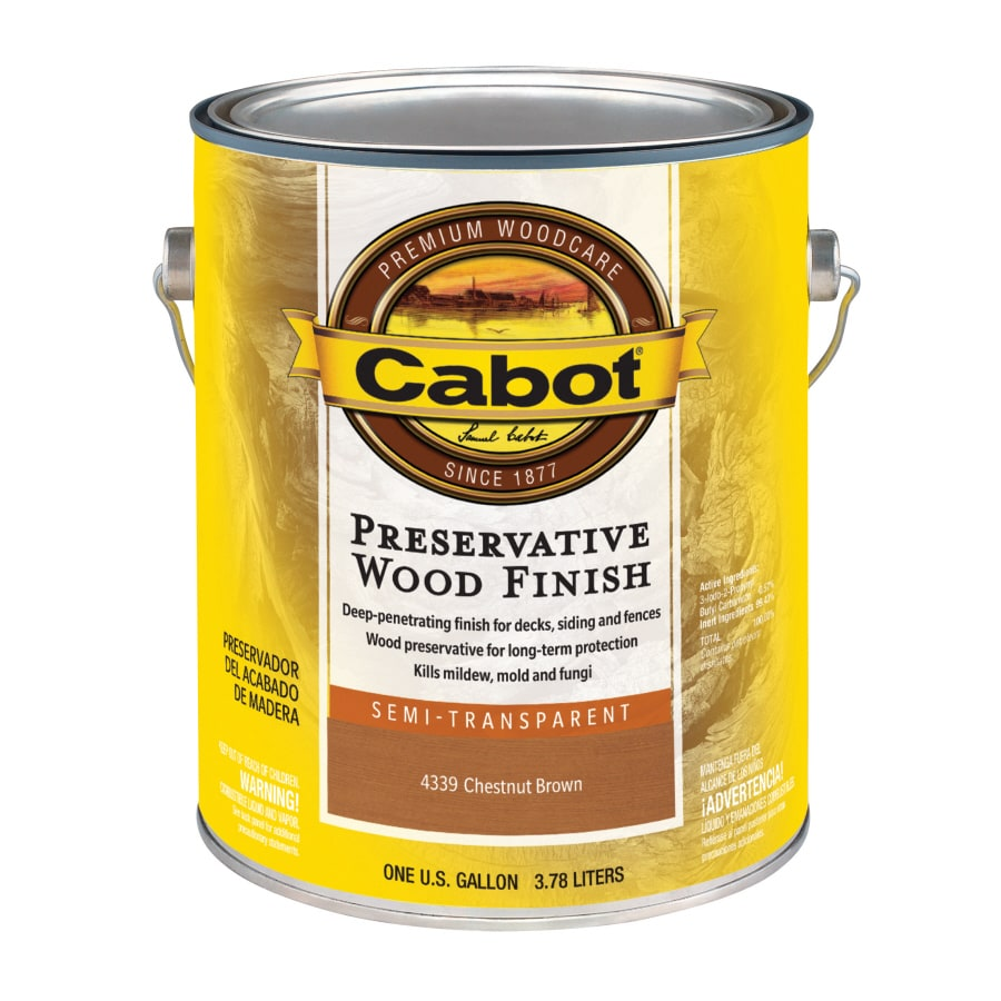Shop Cabot 1 Gallon Semi Transparent Exterior Stain At