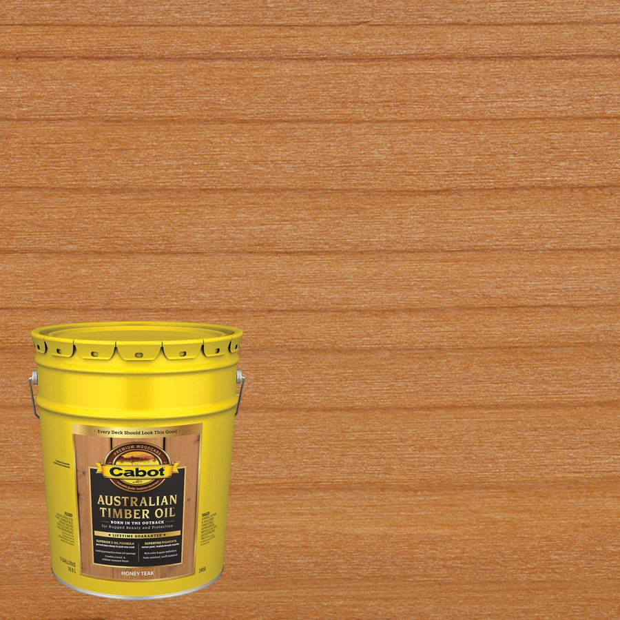 Cabot Australian Timber Oil 5-Gallon Semi-Transparent Exterior Stain
