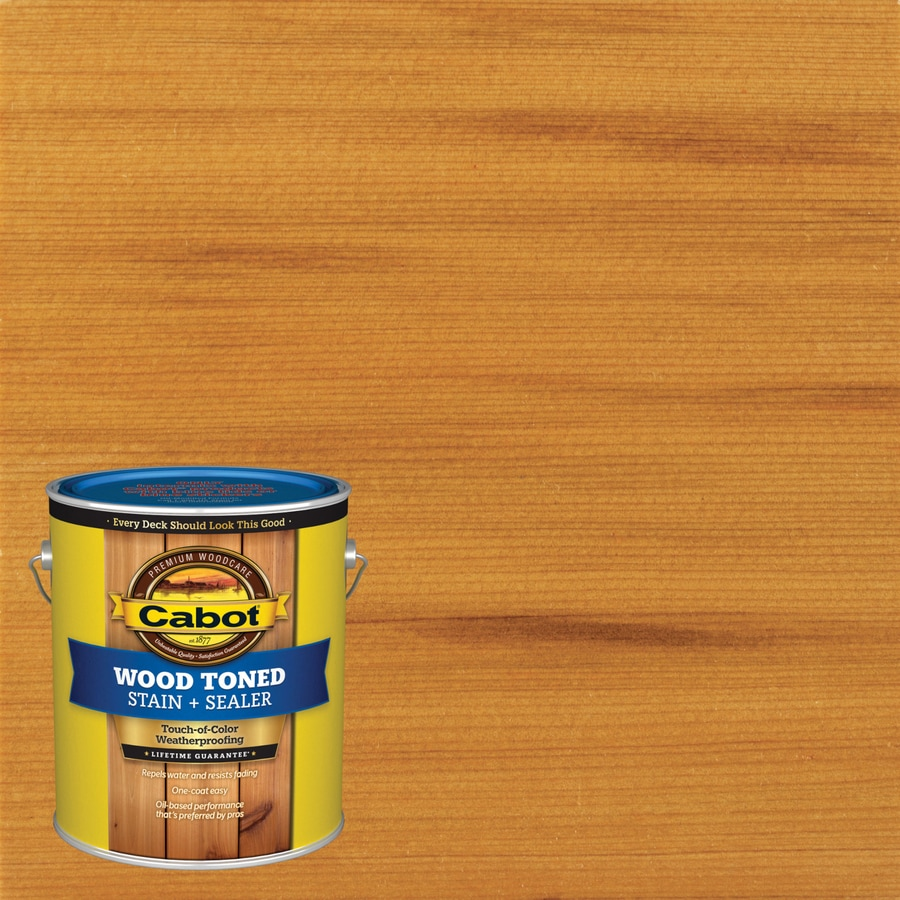 Cabot Transparent Exterior Stain (Actual Net Contents: 128-fl oz)
