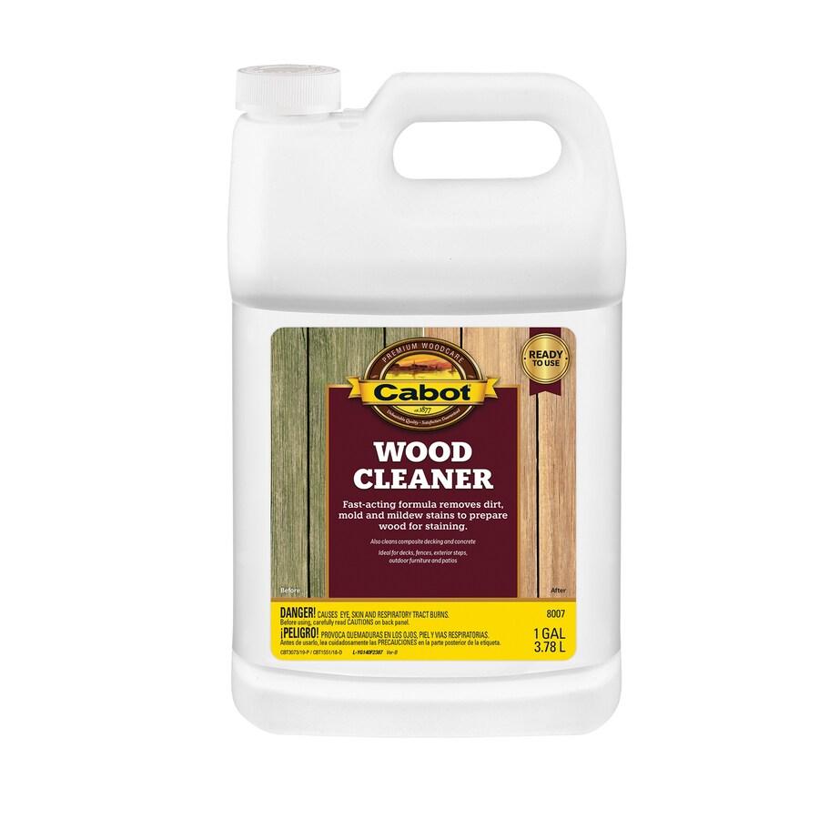 Cabot Valspar 128 fl oz Wood Cleaner