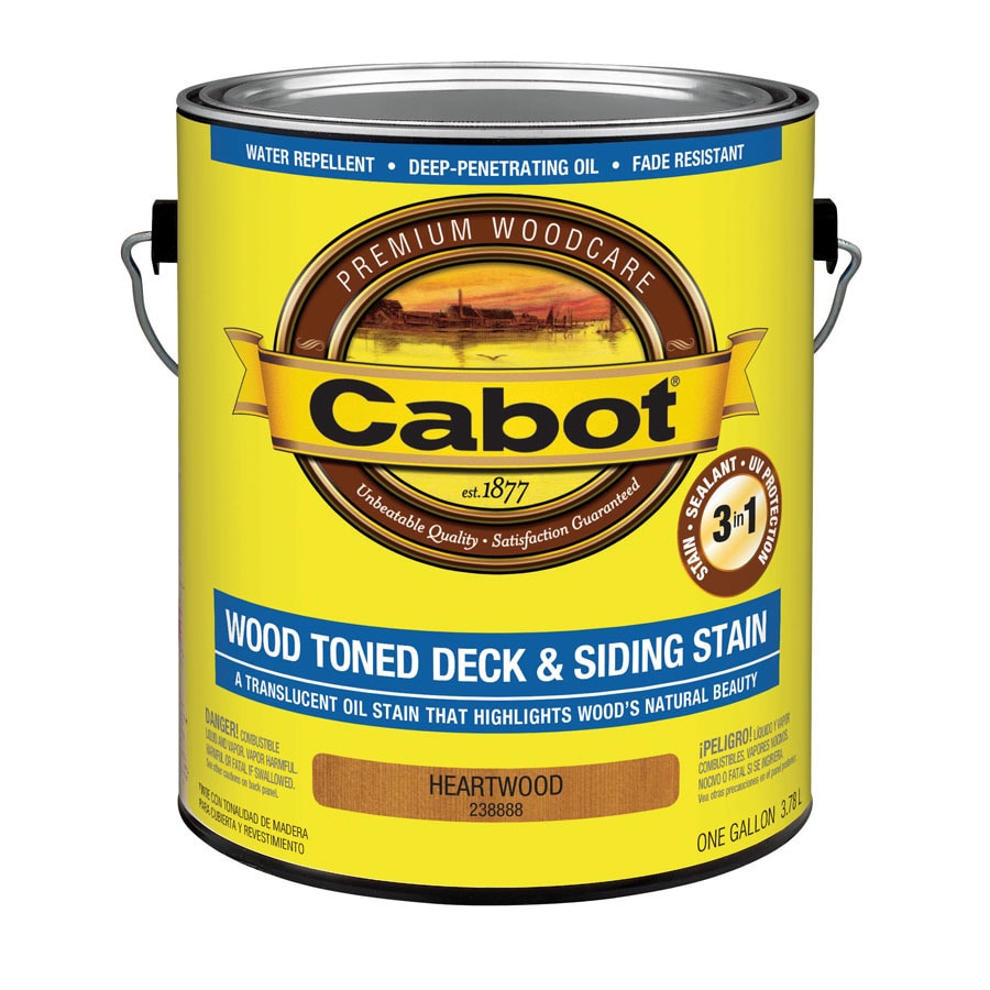Cabot Cabot 3 in 1 Heartwood Toner Exterior Stain (Actual Net Contents: 128-fl oz)