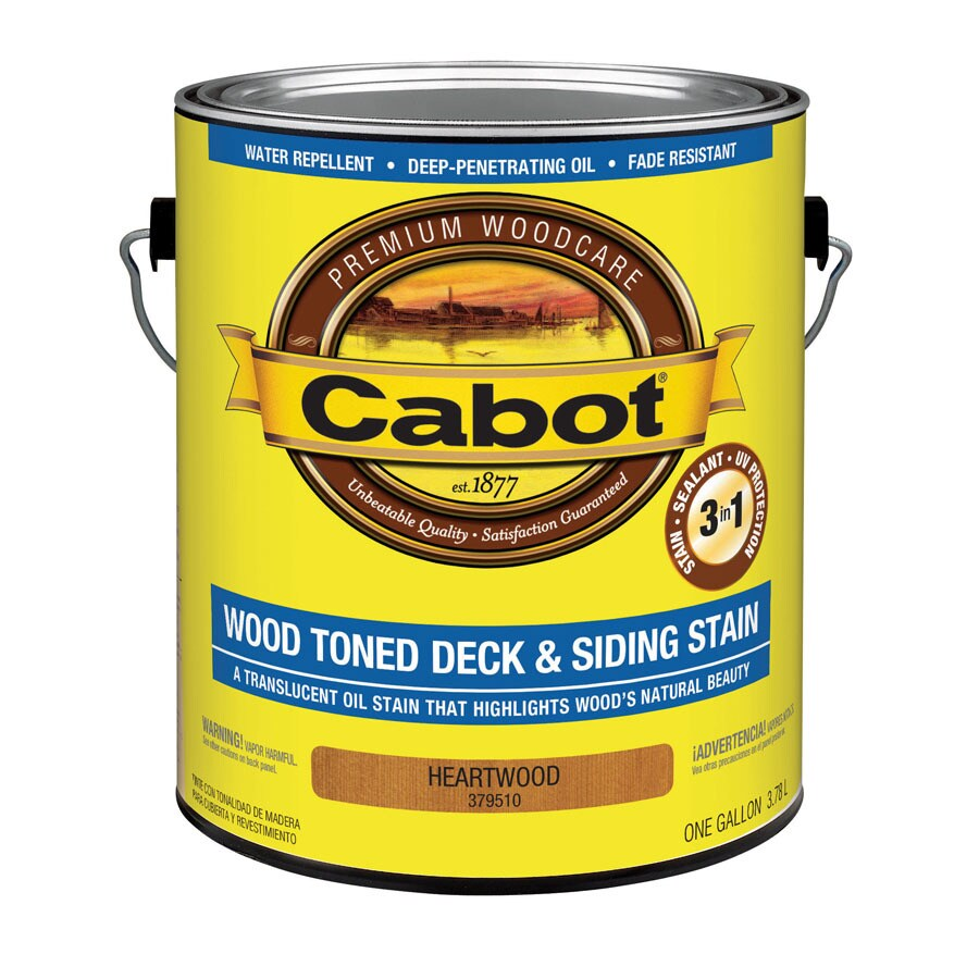 Cabot 1-Gallon Heartwood Toner Exterior Stain