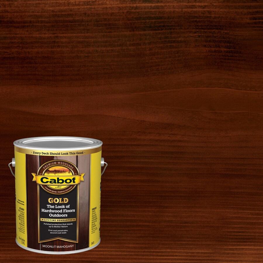 Cabot Gold Moonlit Mahogany Toner Exterior Stain (Actual Net Contents: 128 Fluid Oz.)