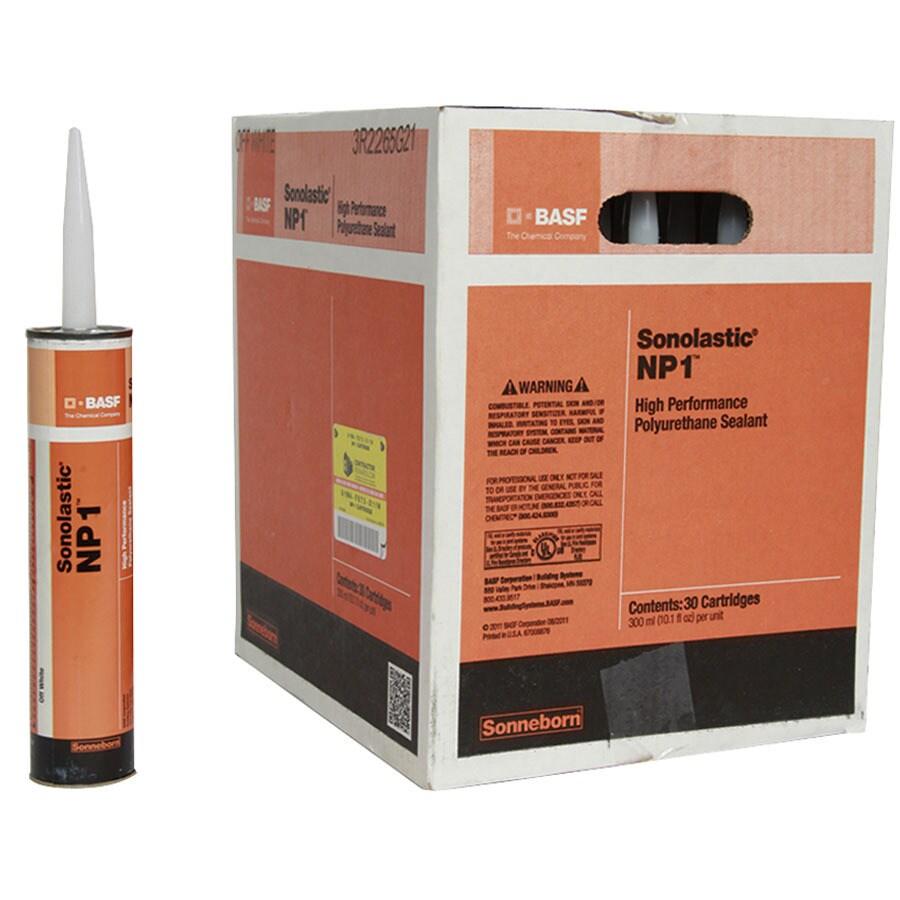 BASF NP1 303-oz Off White Paintable Polyurethane Window and Door Caulk