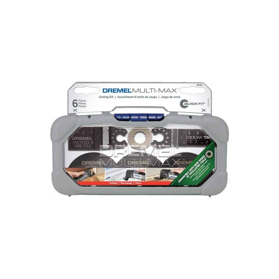Dremel 6-Pack Bi-Metal Oscillating Tool Blades